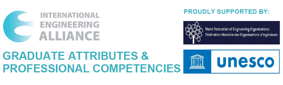 International Engineering Alliance publishes approved revised Graduate Attributes and Professional Competencies Framework (GAPC), supported by UNESCO and WFEO