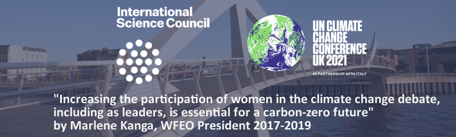 Increasing the participation of women in the climate change debate, including as leaders, is essential for a carbon-zero future
