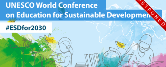 UNESCO World Conference on Education for Sustainable Development 2020
