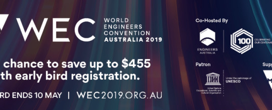 World Engineers Convention 2019 – WEC 2019