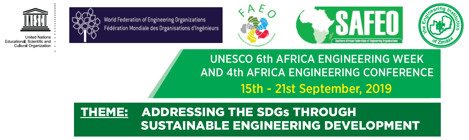 UNESCO-Africa Engineering Week and Africa Engineering Conference 2019 @ AVANI Victoria Falls Resort