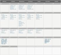 Events Calendar June 2020
