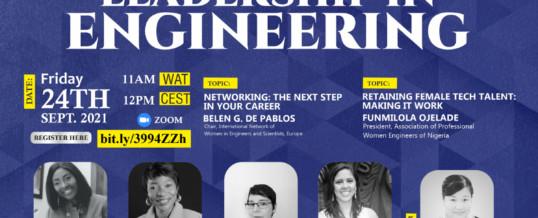 "WFEO WIE Webinar ""Engineering Workforce Capacity Building- to increase diversity and inclusivity in the future skills pipeline"""