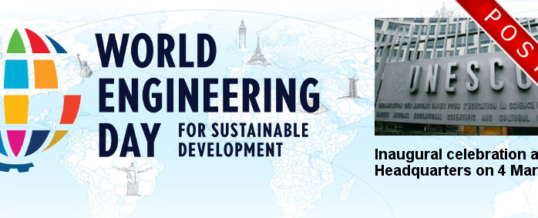 The Inaugural World Engineering Day Ceremony