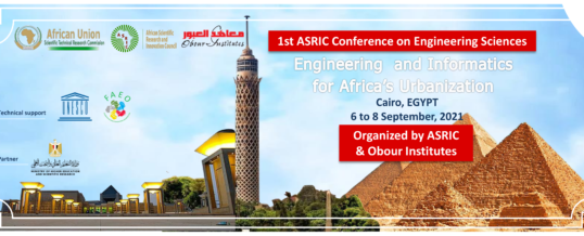 First ASRIC Conference on Engineering Sciences