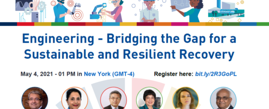 """STI Forum 2021 Side Event """"Engineering – Bridging the Gap for a Sustainable and Resilient Recovery"""""""