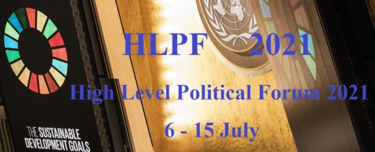 High-level Political Forum 2021: Sustainable and resilient recovery from the COVID-19 pandemic