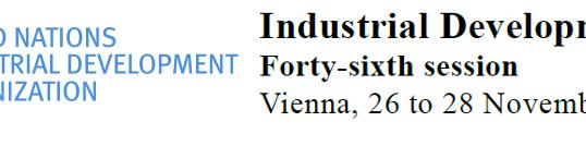 UNIDO Industrial Development Board 2018